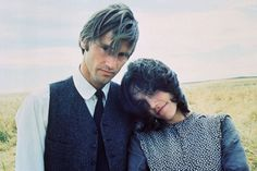 """Sam Shepard and Brooke Adams in """"Days of Heaven"""" by Terrence Malick, 1978."""