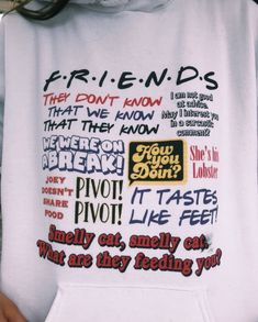 Trendy Ideas For Fitness Quotes Friends Friends Episodes, Friends Moments, Friends Series, Friends Tv Show, Friends Show Quotes, Friends Trivia, Friend Quotes, Cute Shirts, Funny Shirts