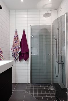 shower for small space