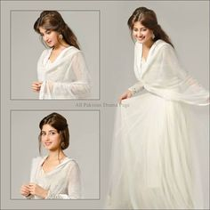 Sajal Ali! Like a white Angel!♥️