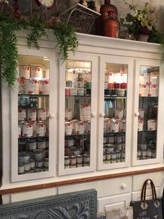 Meet Country Chic Paint retailer: Tami Loves - New Concord, OH… Our Country, Country Chic, Liquor Cabinet, Paint Colors, Display, Nook, Walls, Meet, Painting
