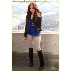 Debby Ryan 'Jessie' Gets a Second Season! ❤ liked on Polyvore