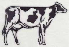 Farm Silhouette Holstein