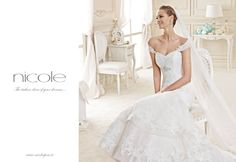 Nicole 2015 dress http://www.nicolespose.it/it/abito-da-sposa-Nicole-DENETTE-NIAB15085IVTF-2015