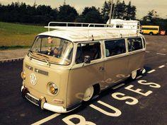 Awesome vintage VW Van!