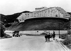 Redoma sur de la urbanización Las Mercedes, Hermanos Iñiguez. Caracas, 1940s (f. 1950s