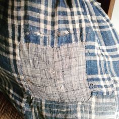 #indigo #19thcenturyfabrics #bleu #indigoblue