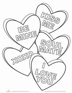 Valentine's Day Coloring Pages eBook: Share the Love