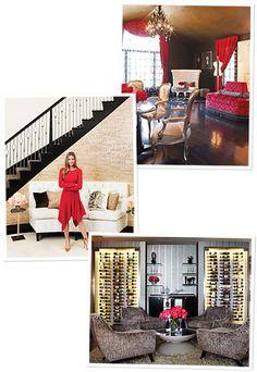 Denise richards 39 house i love her glamorous for Denise richards home decor