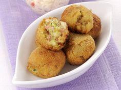 polpettine-di-pane-e-mortadella Muffin, Pane, Breakfast, Recipes, Food, Morning Coffee, Recipies, Essen, Muffins