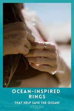 Carry the spirit of the gentle giants of the Oceans with our Sterling Silver Whale tail ring. Beach vibes all. year. long with these beach ocean inspired rings, bracelets and necklaces. Head on to our website at atoleajewelry.com We offer free shipping anywhere you are!