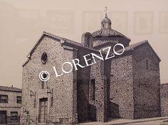 Alpera, Ermita de San Roque. Dibujo a plumilla sobre papel