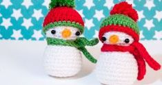 On this information, I'll present you find out how to crochet somewhat snowman. As you may see, the little crochet snowman is a superb ornament for the winter. However you may as well crochet Crochet Snowman, Crochet Christmas Ornaments, Crochet Winter, Holiday Crochet, Christmas Hacks, Christmas Crafts, Crochet Toys, Free Crochet, Knitting Patterns