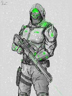 Master Chief, Illustrations, Fictional Characters, Art, Art Background, Illustration, Kunst, Performing Arts, Fantasy Characters