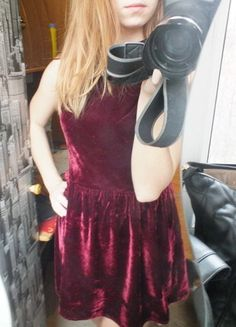 Kup mój przedmiot na #vintedpl http://www.vinted.pl/damska-odziez/krotkie-sukienki/12170577-sukienka-krotka-bordowa