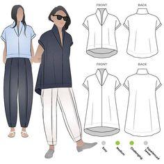 Teddy Designer Top Sizes 10 12 14 PDF women's top