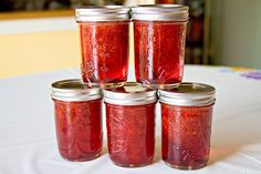 Strawberry Vanilla Bean Jam - OH so good. By @Tracy | Sugarcrafter