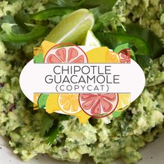 This Chipotle Guacamole recipe is the real deal. With just seven ingredients and a few minutes, enjoy as much Chipotle Guacamole at home as you can mash! Home Made Guacamole Recipe, How To Make Guacamole, Homemade Guacamole, Spicy Guacamole Recipe, Chipotle Copycat Recipes, Chicken And Butternut Squash, Cooking Recipes, Healthy Recipes, Keto Recipes