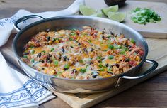 Tex-Mex Chicken and Rice Skillet | eHow Food
