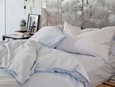 Duvet Cover by Parachute Home. http://www.parachutehome.com/products/percale-duvet-cover