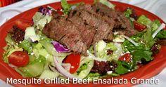 Mesquite Grilled Beef Ensalada Grande