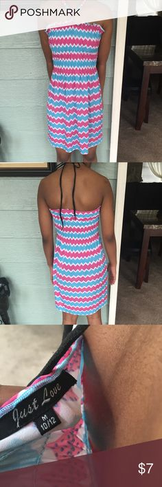 Big Girls Summer Dress Worn once. My daughter didn't want to part with it lol. Size 10/12. Smoke and pet free home. Dresses Casual