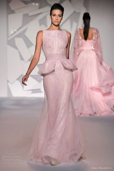 Abed Mahfouz Pink Couture (2012)