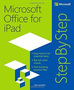 Microsoft Office for iPad Step by Step by Joan Lambert http://www.amazon.com/dp/0735696950/ref=cm_sw_r_pi_dp_dZolvb14K166X