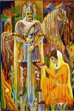 Tapestry by Mykharbi Kokonov from Adyghe republic.