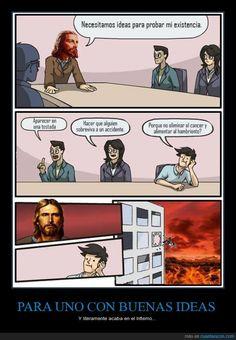 Por cosas así soy ateo