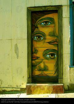Valparaiso, no Chile.  Fotografia: Kimako.