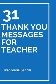 31 thank you messages for teacher thank you teacher messages, thanks messages, words for