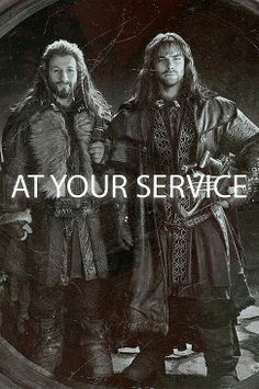 The Hobbit - Fili and Kili Mmmm yes please