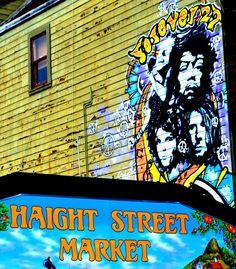 Haight Ashbury, San Fran