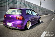 VW GTI. Not a huge fan of the purple...