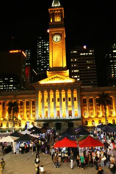 brisbane twilight market :)