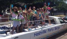 Nashville Party Barge - Nashville Sightseeing Tours, Downtown Nashville Tours