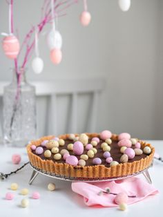 Helppo Vegaaninen Suklaapiirakka | Annin Uunissa A Food, Food And Drink, Most Delicious Recipe, Key Lime, Cereal, Sweet Treats, Easter, Yummy Food, Sweets