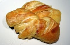 Sugared Brioche Twists:Fast Breads: 50 Recipes for Easy, Delicious Bread by Elinor Klivans