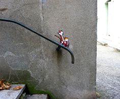Street Art: Bis zum Hals in der Straßenpfütze – Seite 4   Lebensart   ZEIT ONLINE