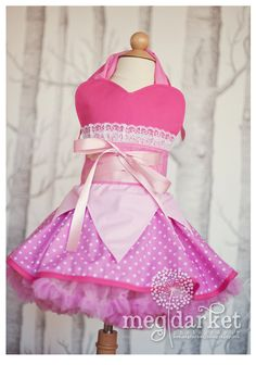 Sleeping Beauty Inspired Dress Up Costume by rossandrosiedesigns, $78.00