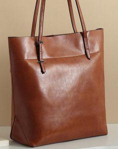 Handmade Leather black tote bag for women leather shoulder bag handbag   EverHandmade