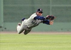 Jr making the catch