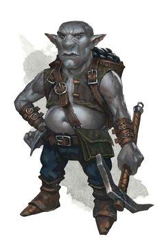 Svirfneblin deep gnome - Pathfinder PFRPG DND D&D d20 fantasy