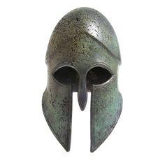 Stream WEEN by from desktop or your mobile device Ancient Greek Art, Ancient Greece, Ancient History, Warrior Helmet, Spartan Helmet, Greek Helmet, Corinthian Helmet, Greek Icons, Greek Gear
