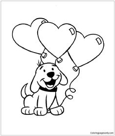Valentine Coloring Page for Kids - Valentine Coloring Page for Kids , Valentines Day Coloring Pages Printable Valentines Coloring Pages, Mothers Day Coloring Pages, Puppy Coloring Pages, Valentines Day Coloring Page, Heart Coloring Pages, Disney Coloring Pages, Coloring Pages To Print, Coloring For Kids, Coloring Pages For Kids