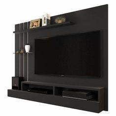 Tv Unit Interior Design, Tv Wall Design, Tv Wall Decor, Tv Furniture, Wall Mounted Tv, Tv Cabinets, Mural Art, Modern Room, Arizona