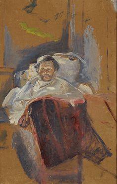 Andreas Bjølstad 1888. Edward Munch (1863-1944)