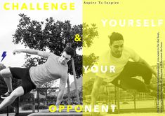 Challenge yourself and your opponent. Athlete, Campaign, Challenges, Fitness, Movies, Movie Posters, Inspiration, Biblical Inspiration, Films