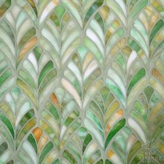 Name: Margot Style: Classic Product Number: Description: Margot, a jewel glass waterjet mosaic, is shown in Emerald. Copyright New Ravenna Mosaics 2013